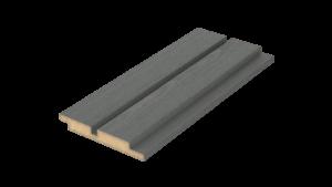 Produktbilde for Dobbelfalset rettkant 10mm m/spor